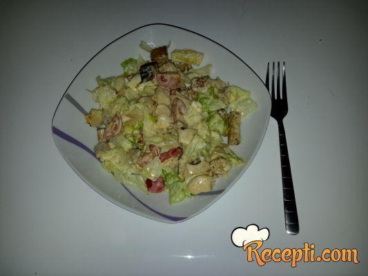 Cezar salata delux :)