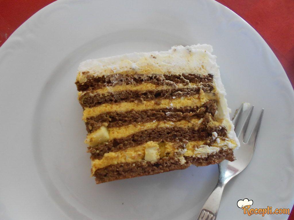 Milka - plazma torta