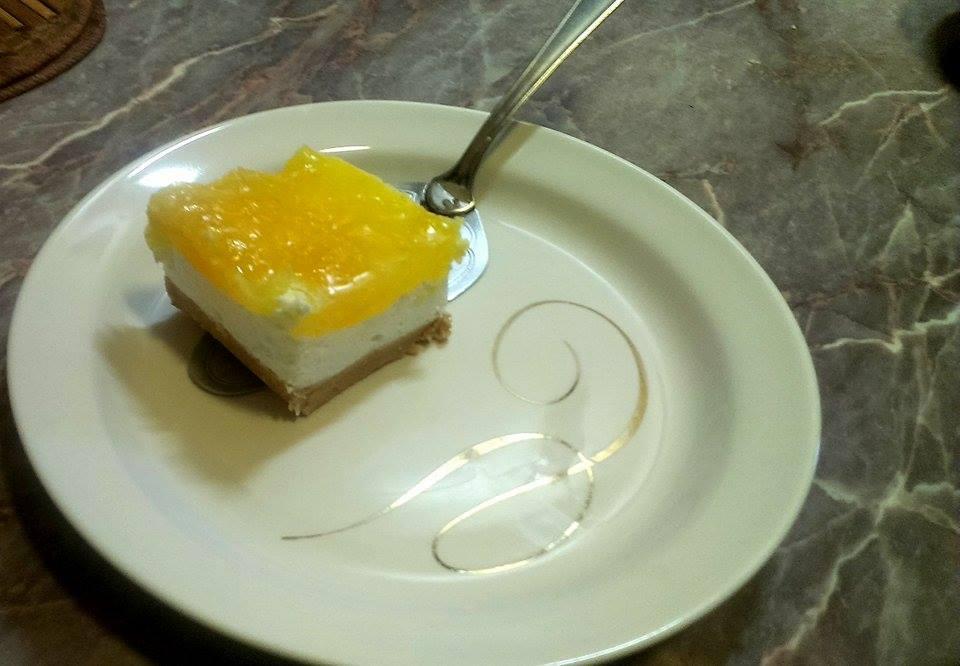 Oranž cheesecake