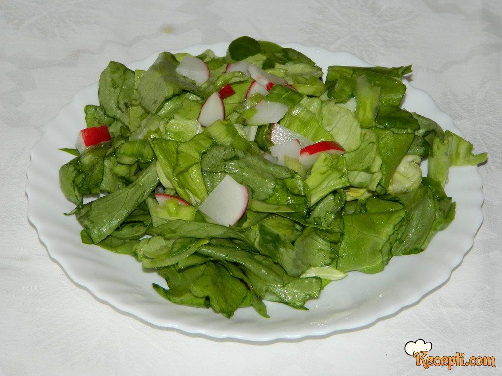 Zelena salatica