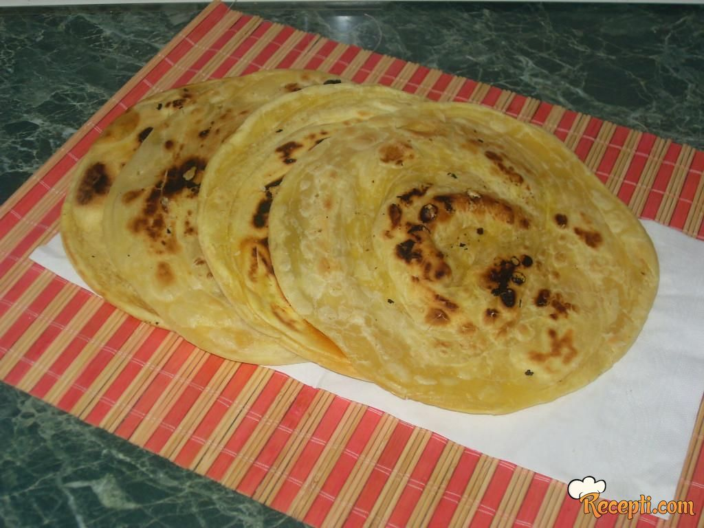 Indijski hleb sa puterom