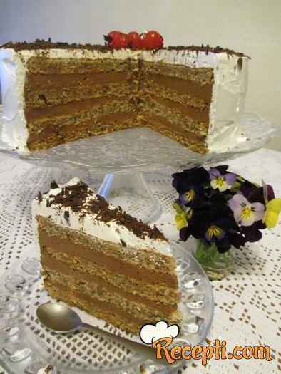 Čoko oranž torta (2)