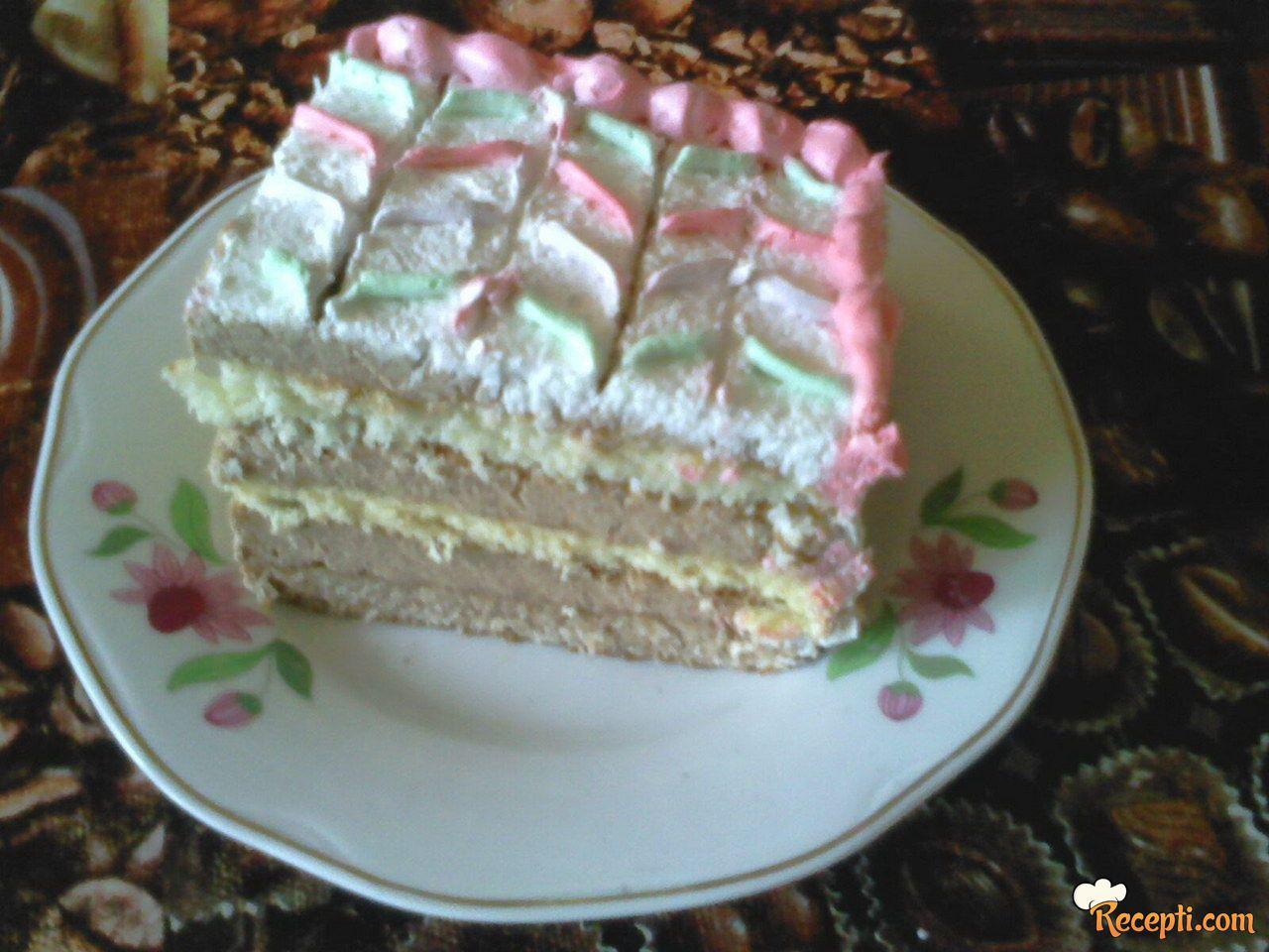 Torta sa orasima i koksom