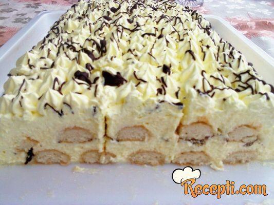 Vanil brza torta