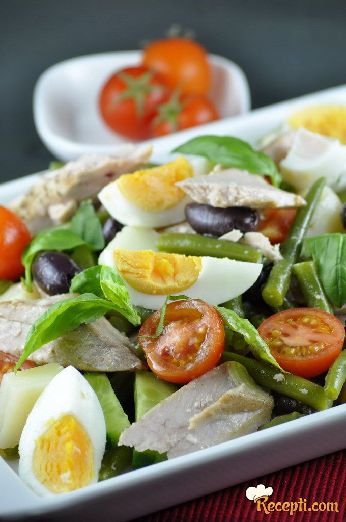 Salata od tune - Nicoise