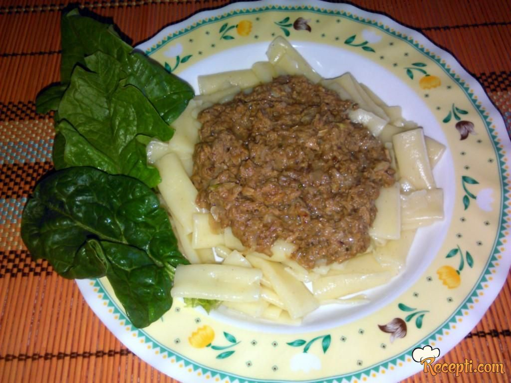 Tuna pasta