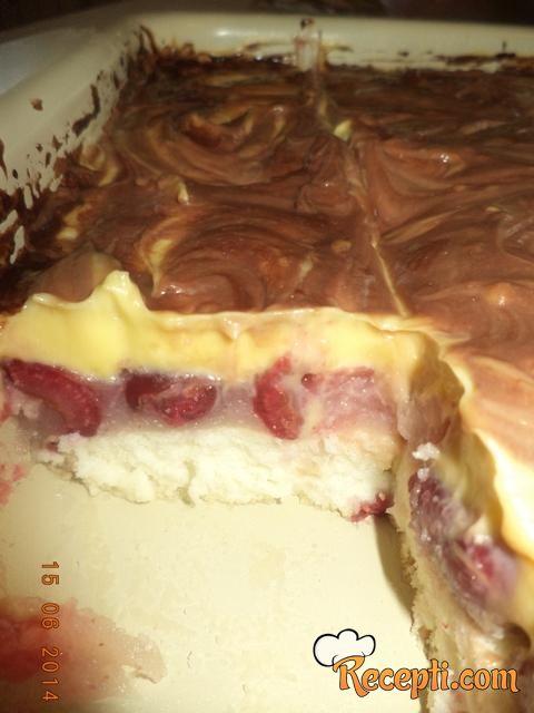 Kremasti voćni kolač