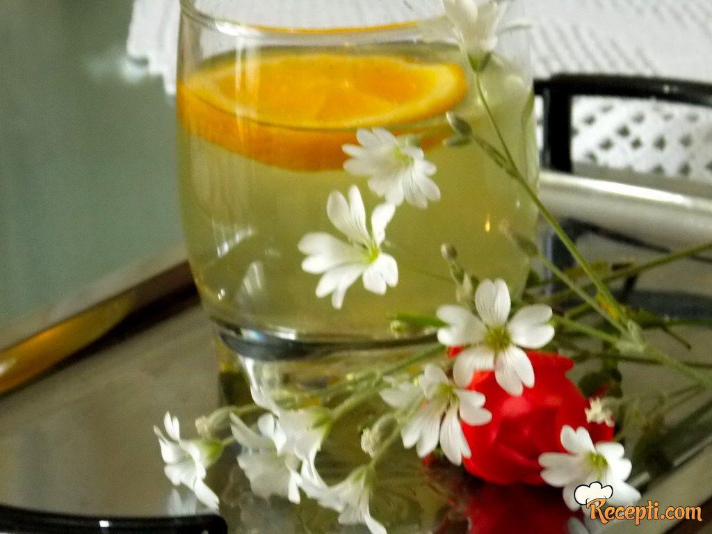 Sirup od zove sa limunom i pomorandžom