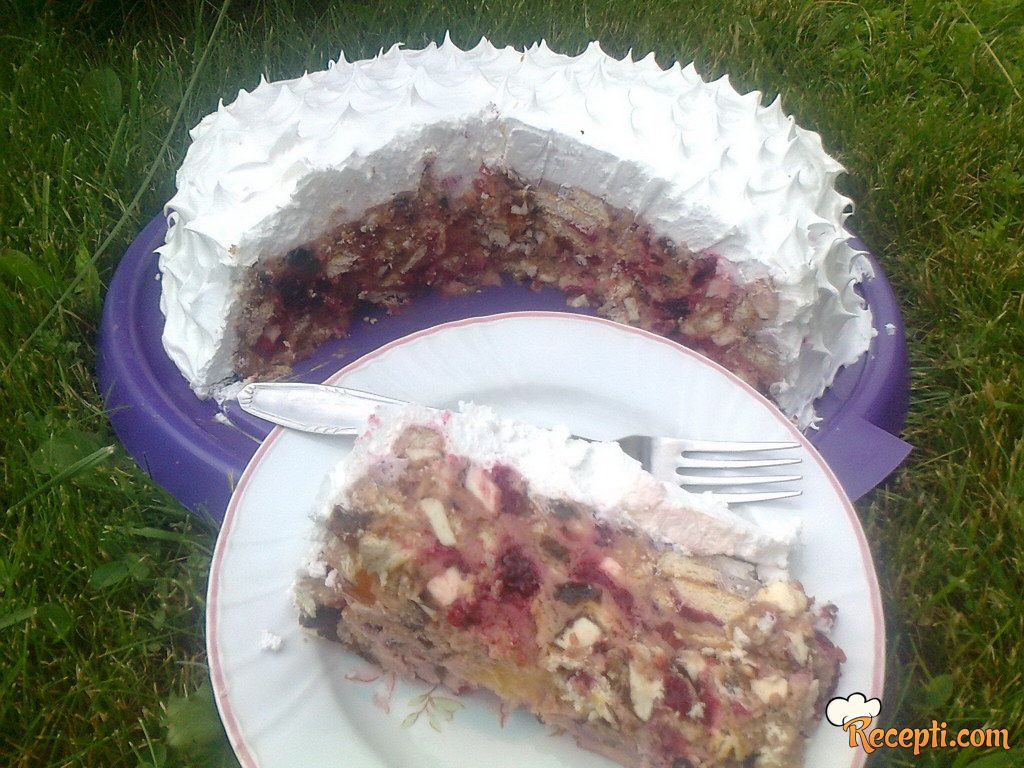 Džumbus torta sa jogurtom