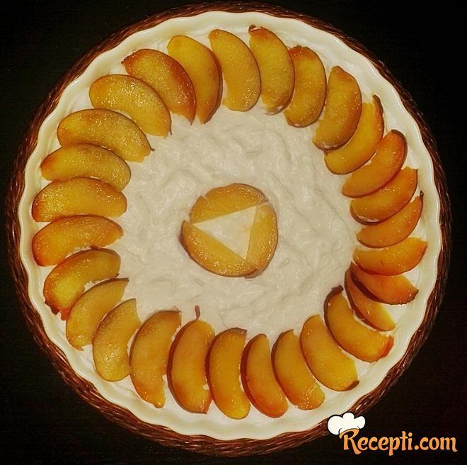 Cheesecake sa breskavama