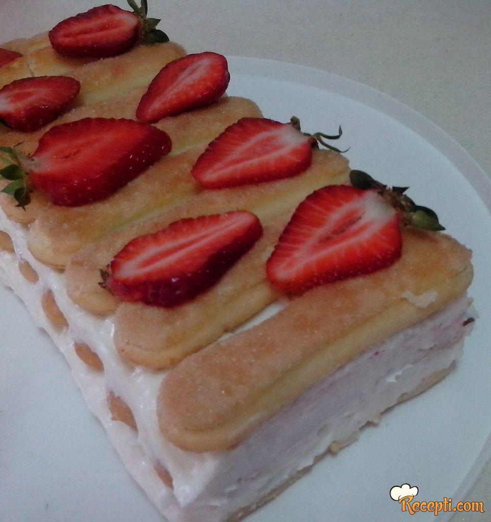 Lagani piškota kolač