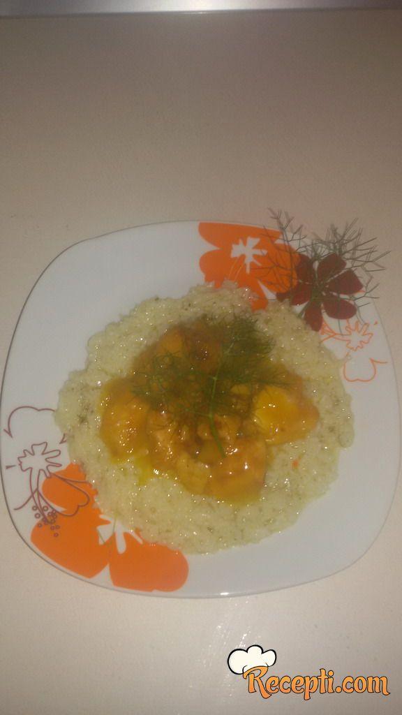 Kineska piletina Bo-Bi sa sosom od narandže