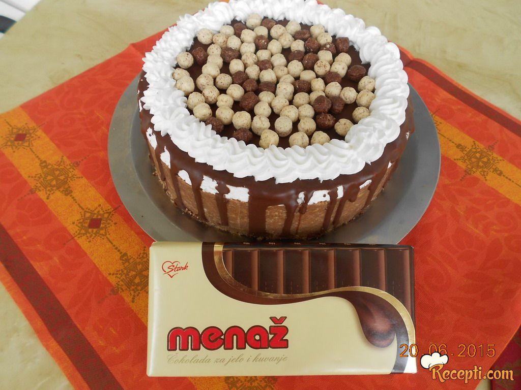 Čokoladni cheesse cake