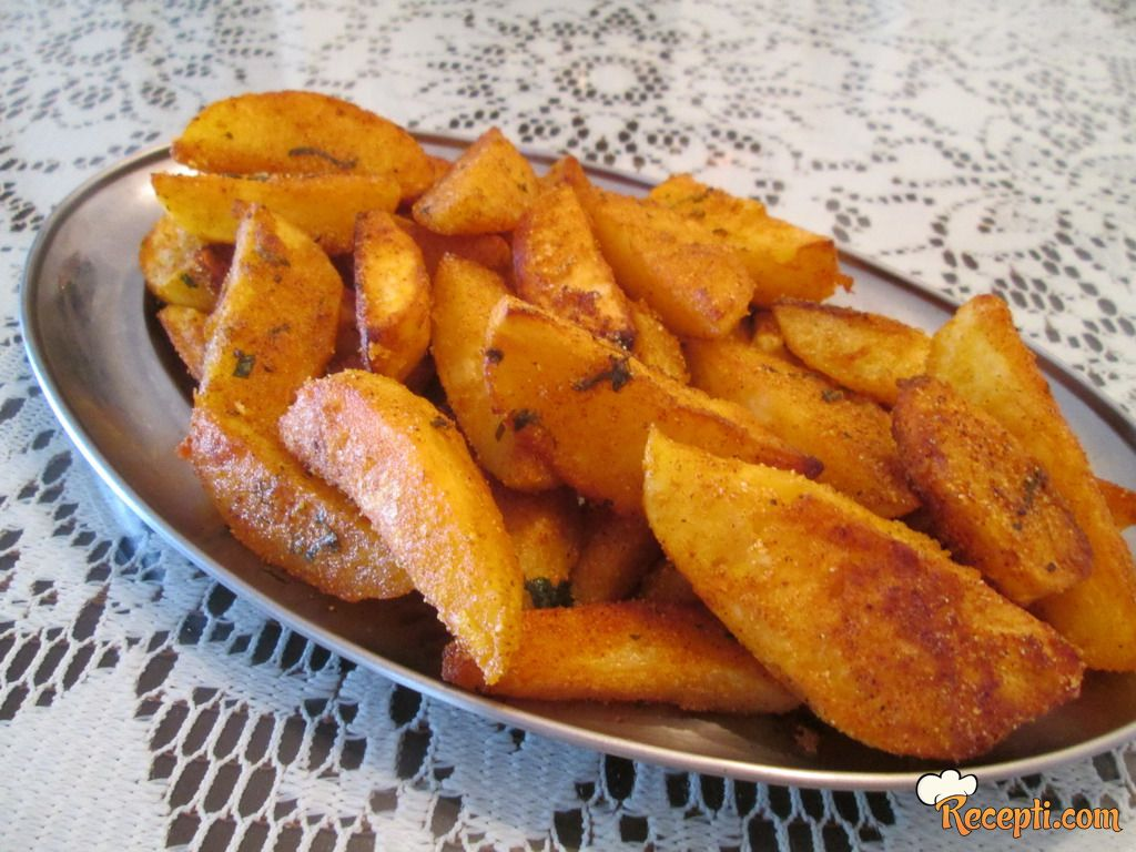 Krompir sa kukuruznim brašnom