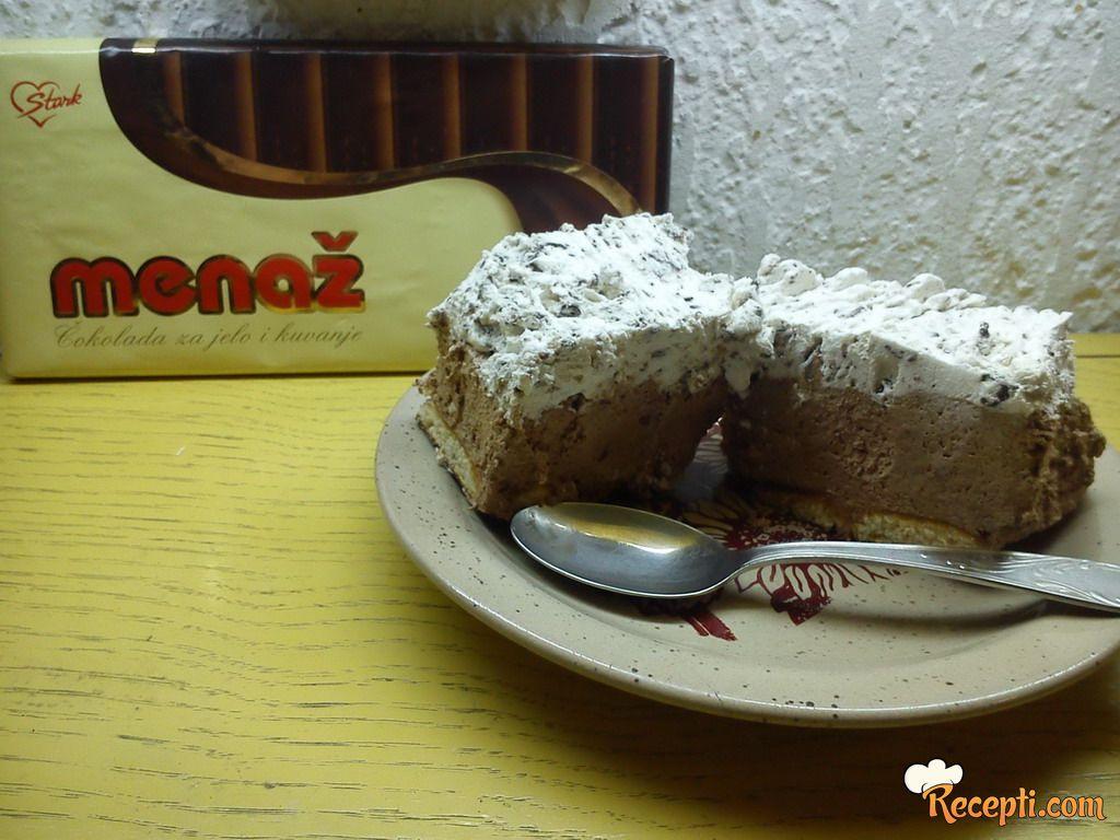 Čokoladni straćatela kolač :)