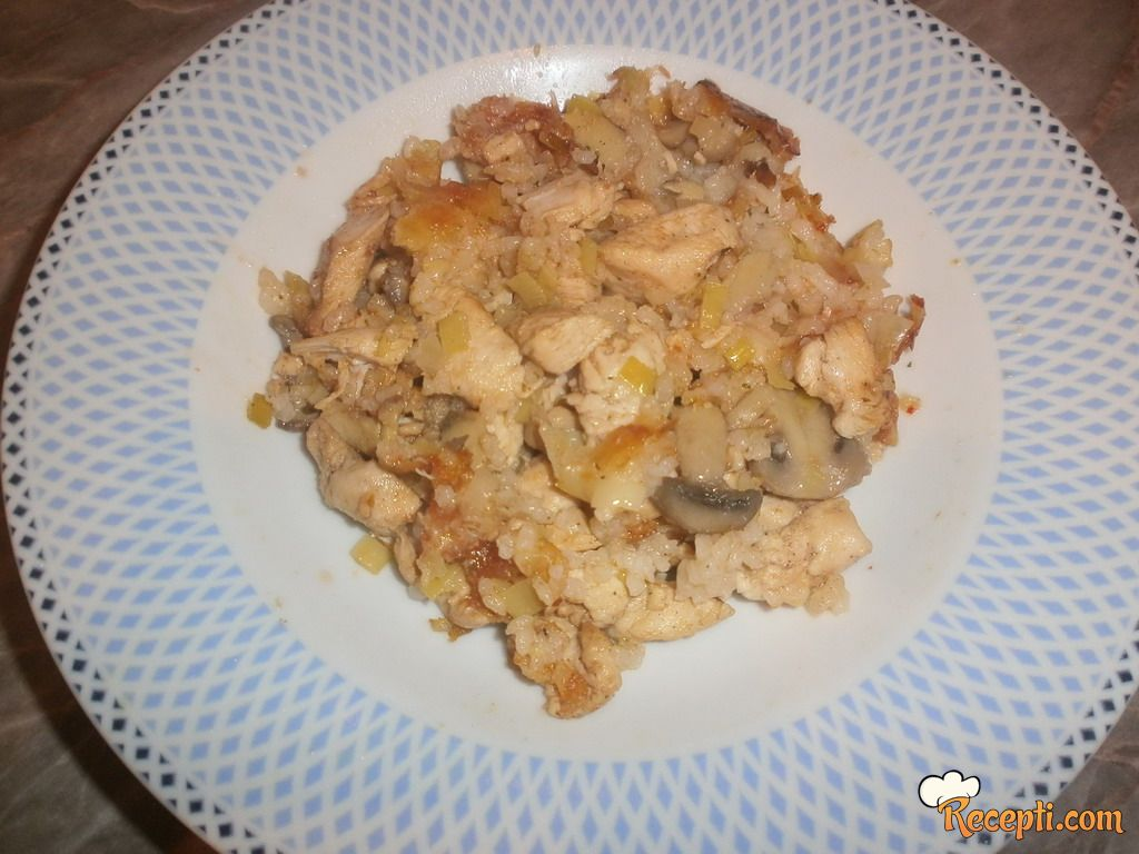 Piletina sa pirinčem (2)