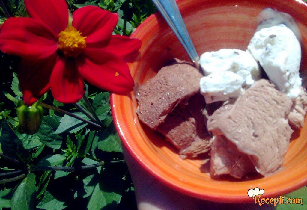Brzinski nutella sladoled