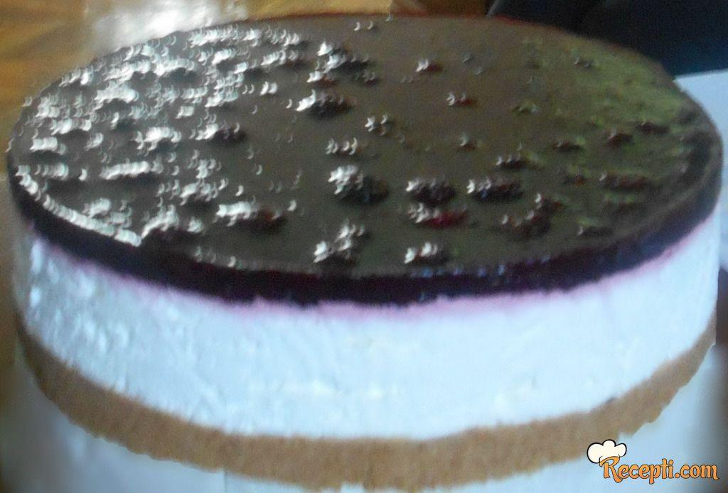 Cheesecake (maline, kupine)