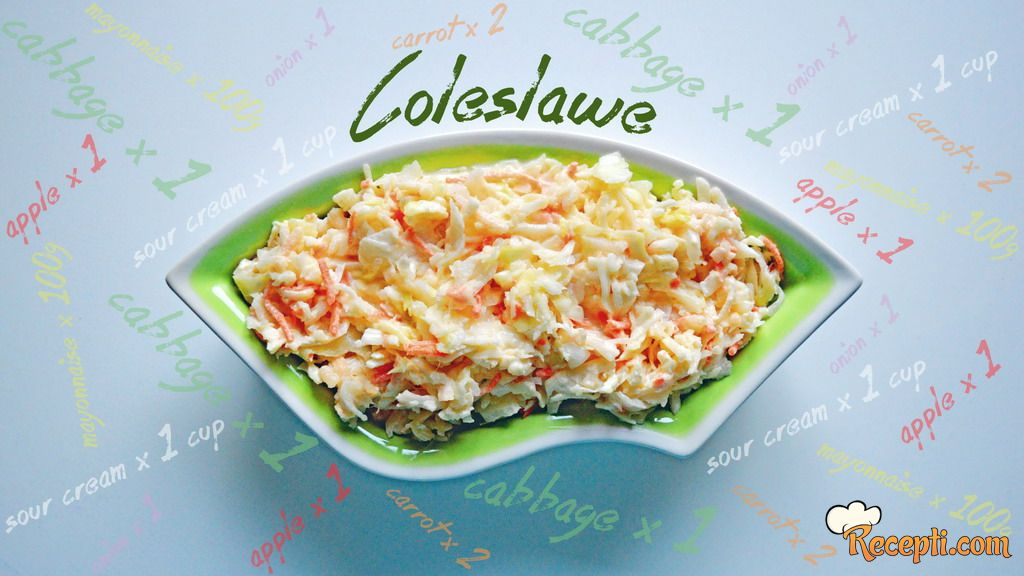 Coleslawe salata
