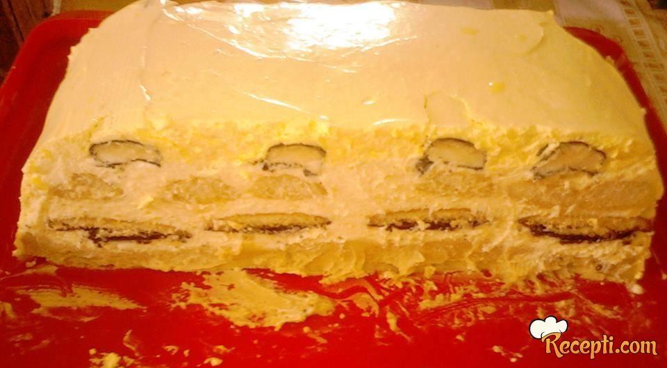 Jafa torta sa keksom i piškotama