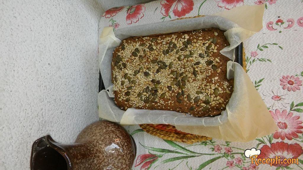 Ražano ječmeni hleb
