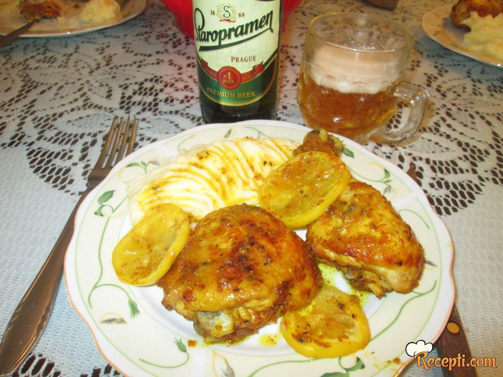 Piletina u marinadi sa limunom