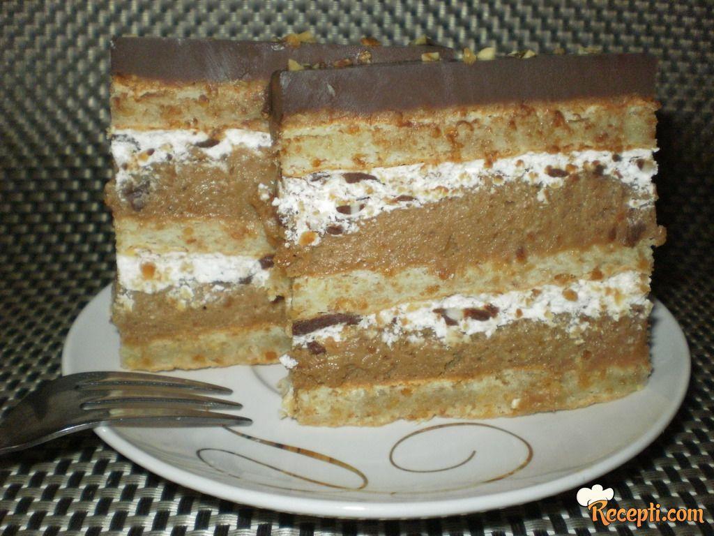 Badem torta sa čokoladom