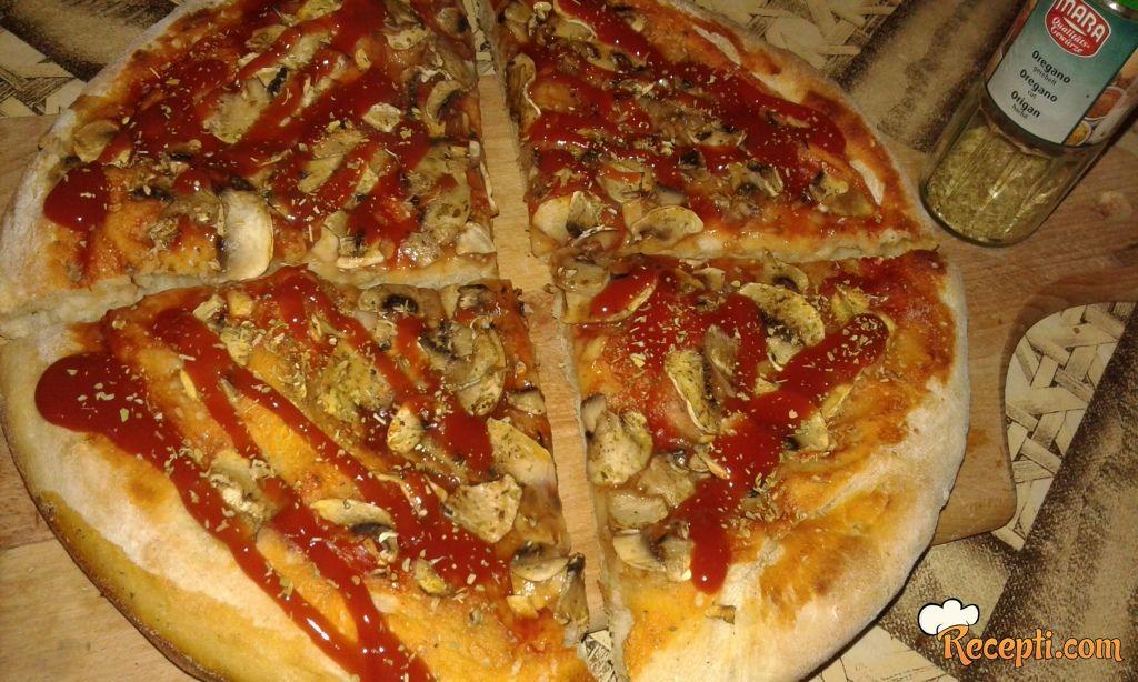 Vege pizza - pizza po UN dijeti