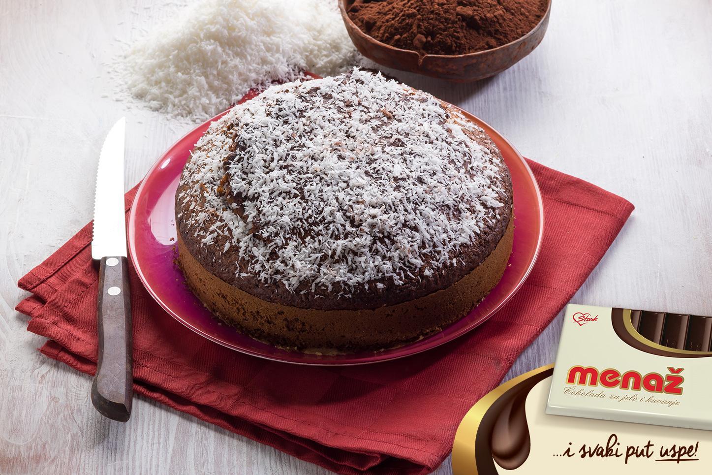 Čokoladna torta s kokosom