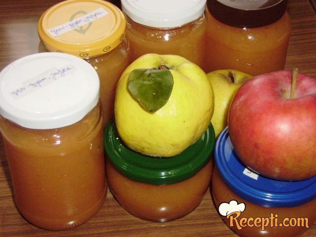 Džem od dunja i jabuka
