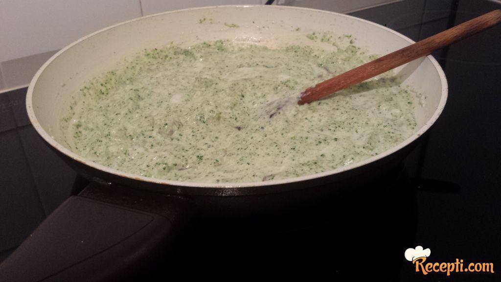 Zeleni sos za testeninu