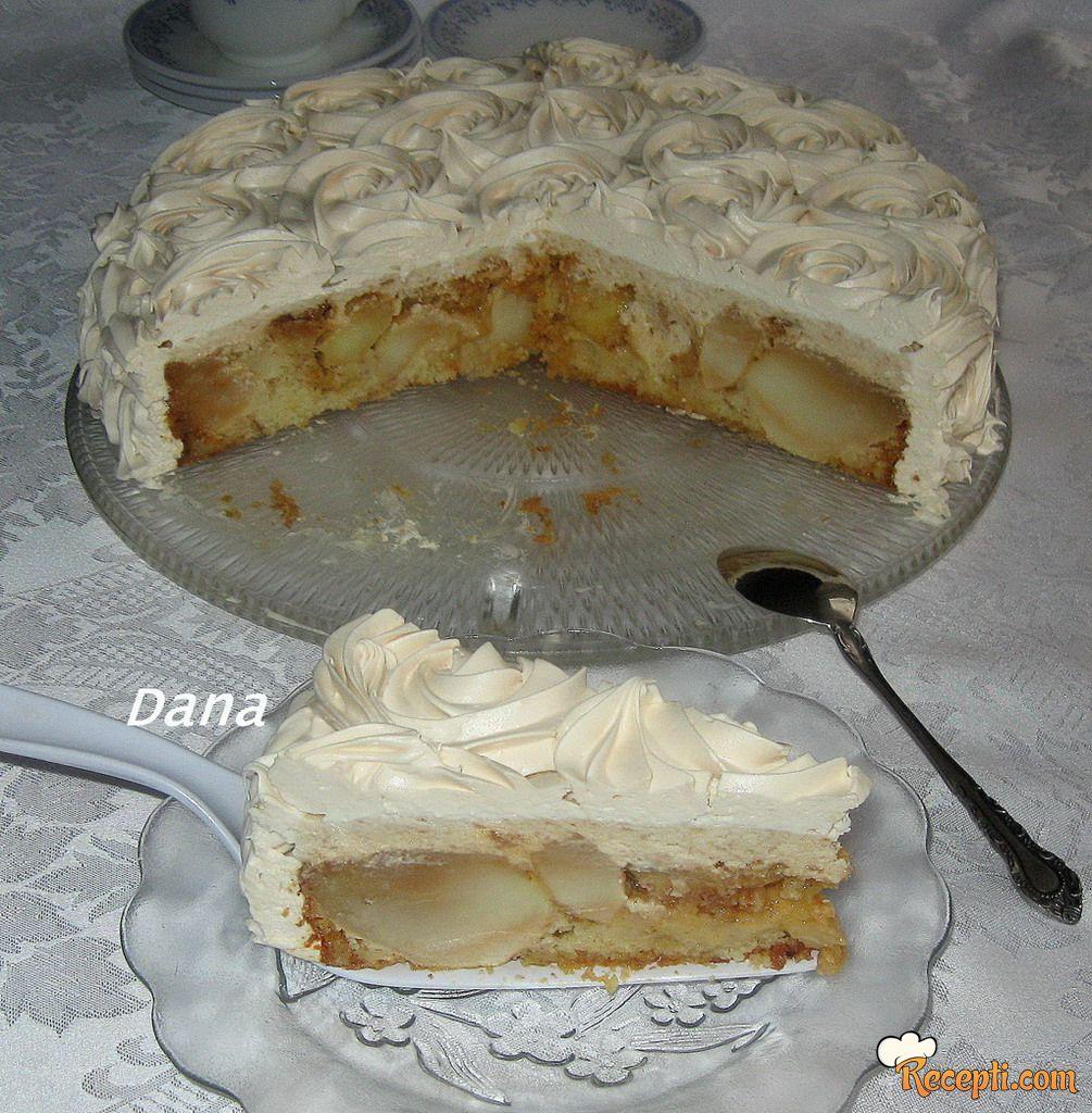 Karamel torta sa jabukama