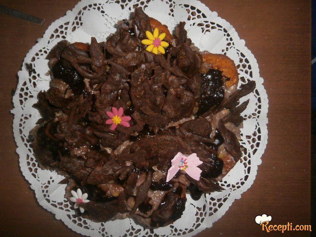 Čokoladne krofne (2)