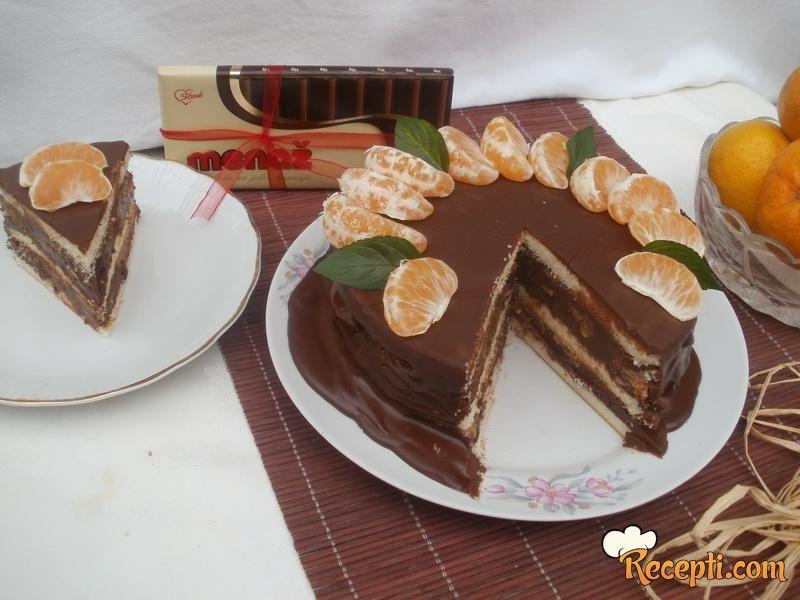 Mandarine u čokoladi