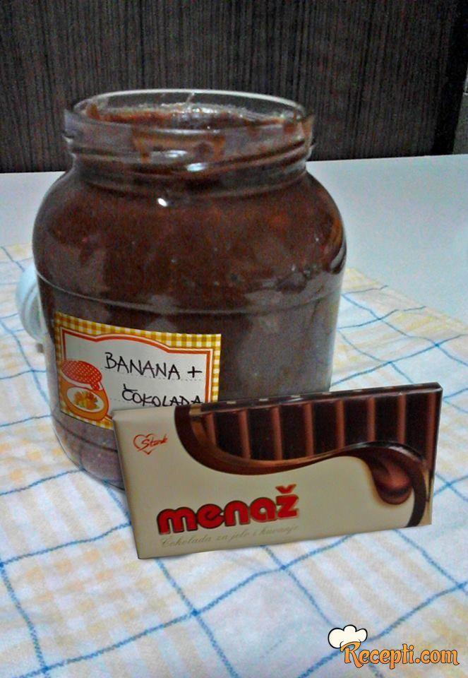 Čoko-banana marmelada