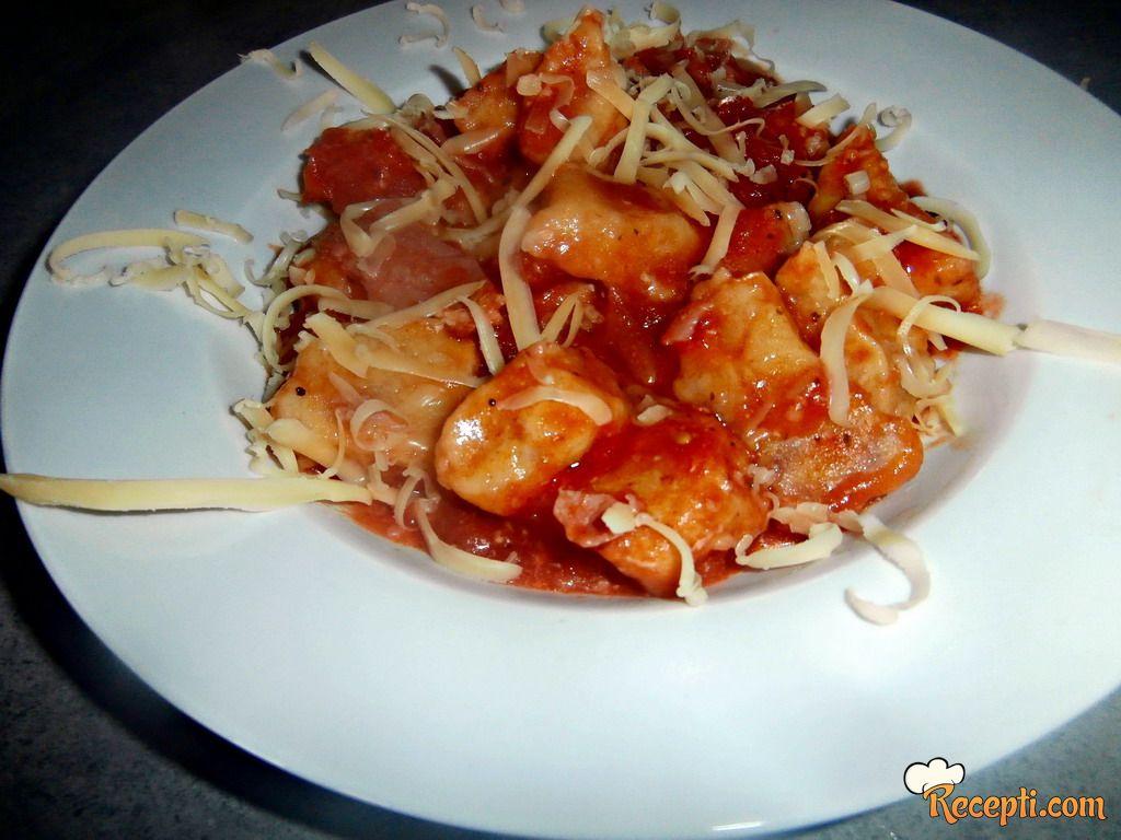 Njoke u paradajz sosu