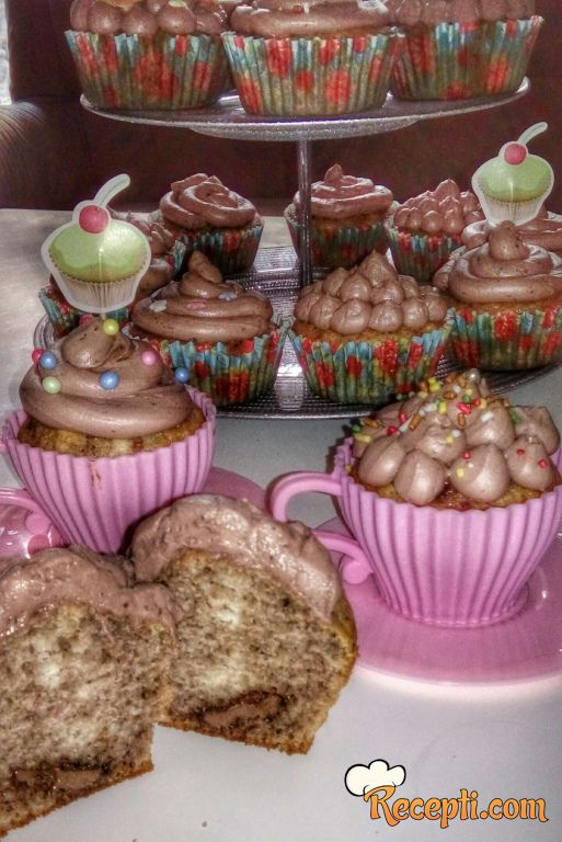 Nutela muffin's