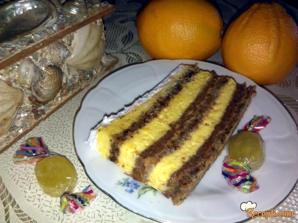 Zimska oranž torta
