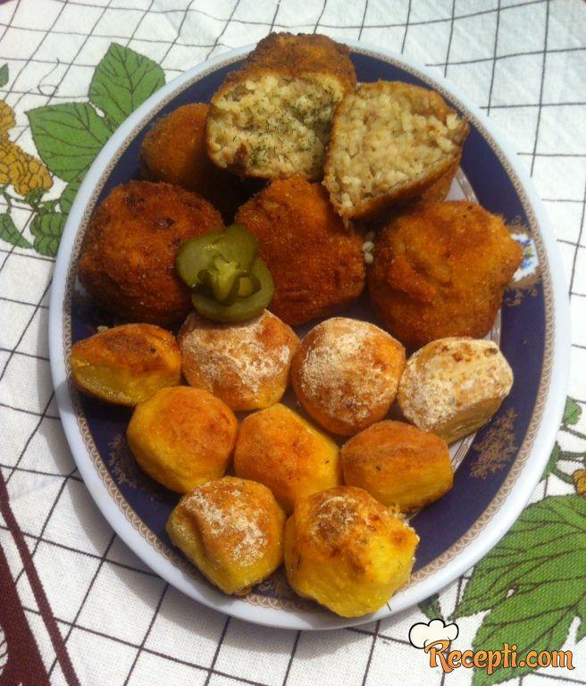 Pirinač kroketi i čarobni krompirići