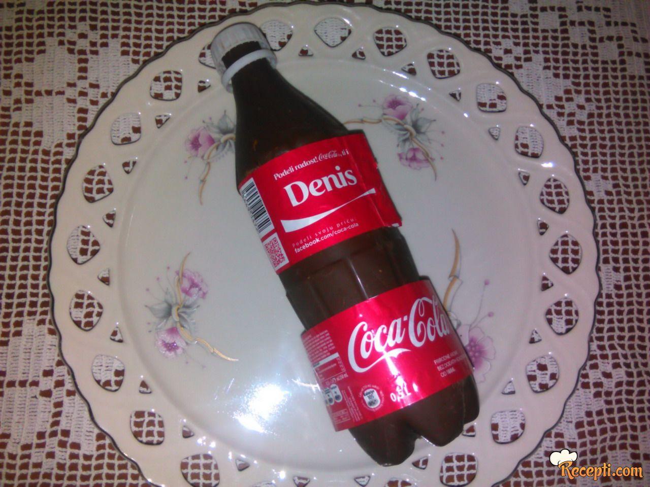 Plazma torta u flaši Coca Colla