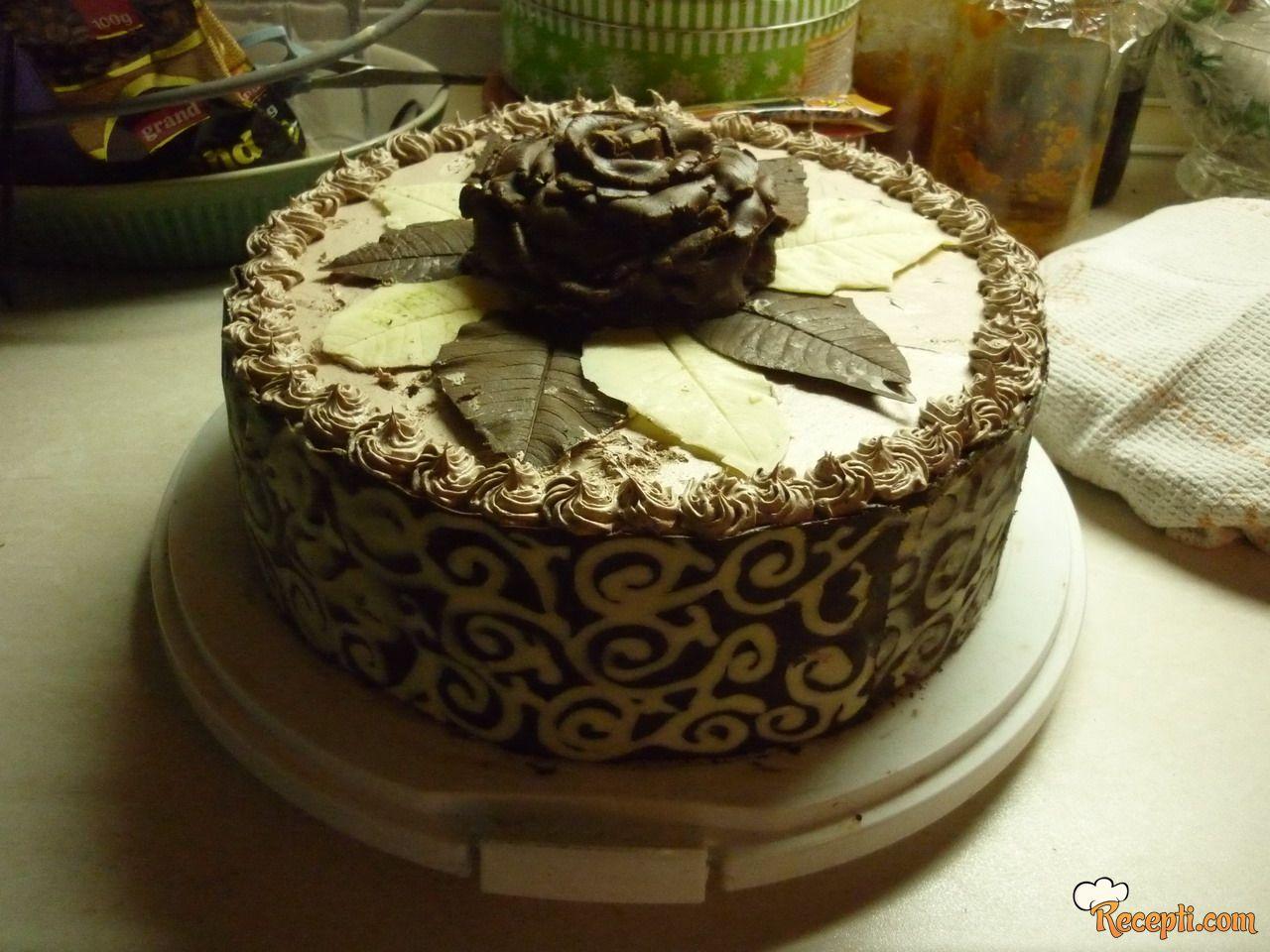 Čokoladna torta kao Ferrero