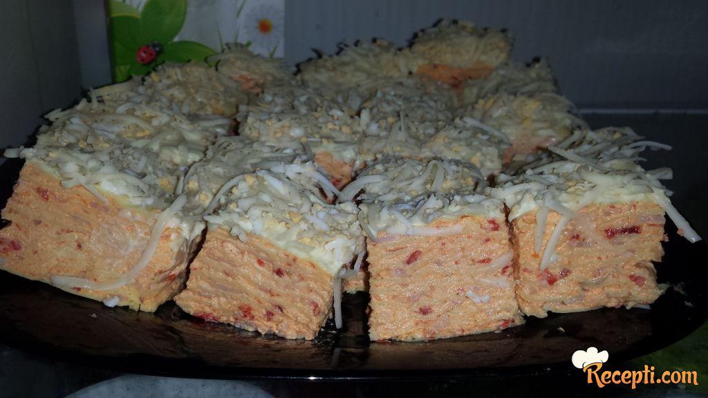 Slana rozen torta