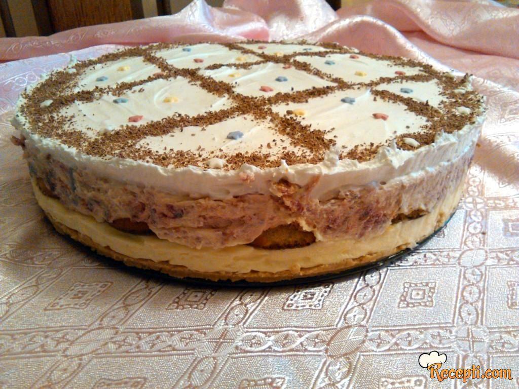 Malinasta jafa torta