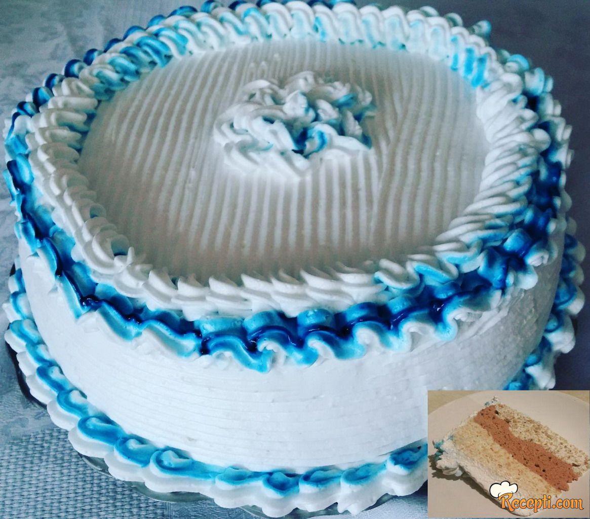 Torta Grčki sladoled