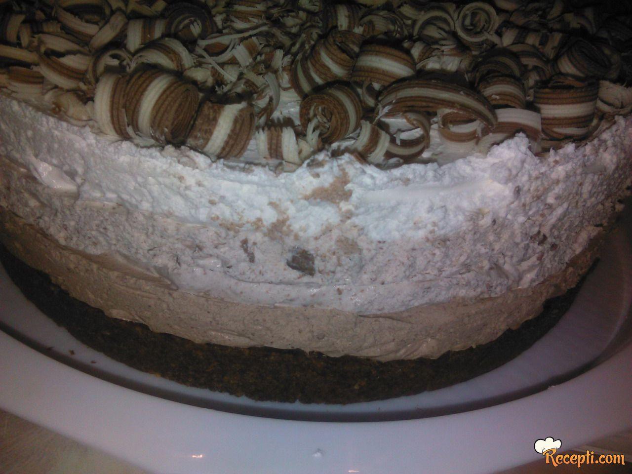Torta Trikolore