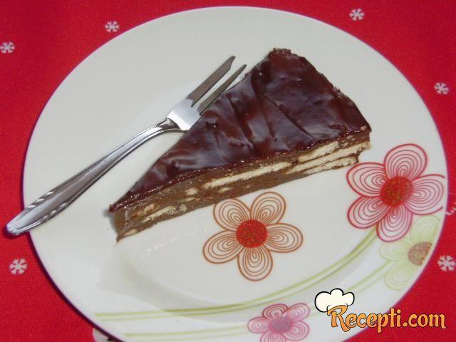 Čokoladni keks kolač (2)