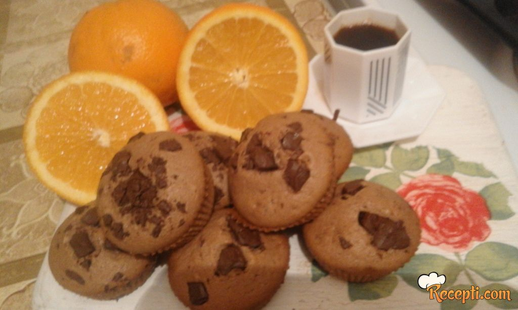 Čoko-oranž mafinčići