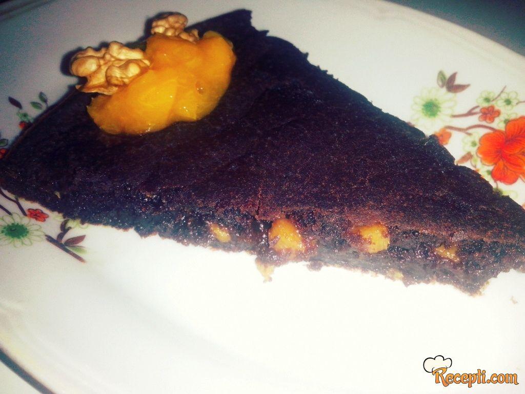 Posni kolač sa džemom