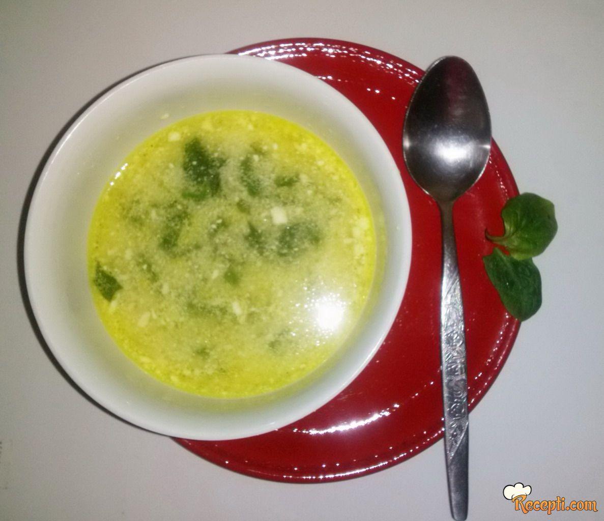 Čorba sa spanaćem (2)