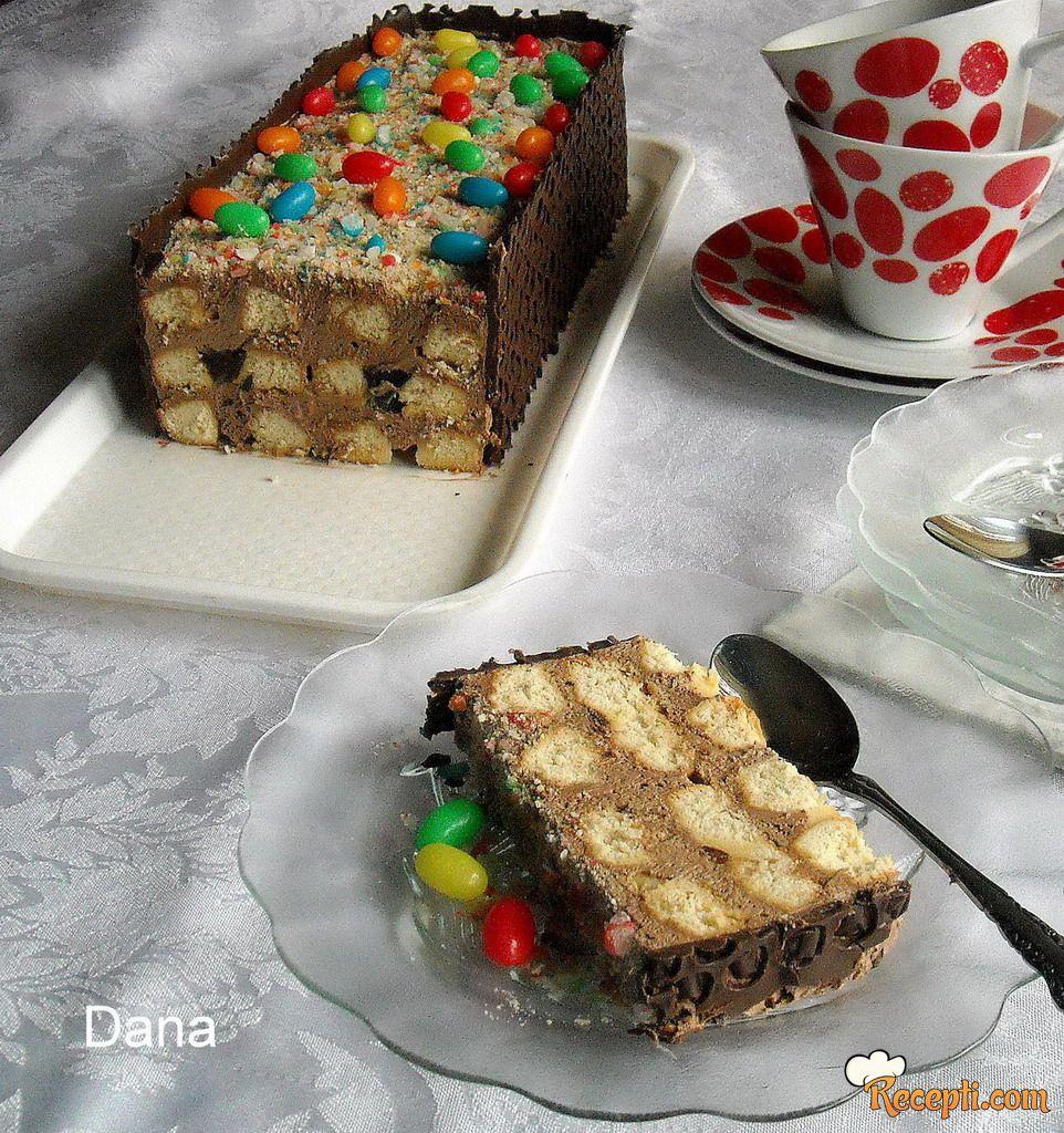 Torta sa čajnim kolutićima